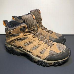 Merrell Moab Mid Men's Brown Waterproof Boots